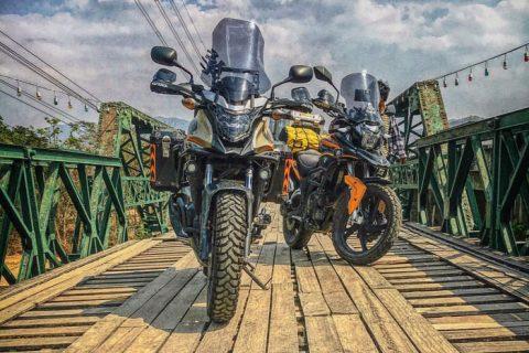 Motorcycle adventure Thailand