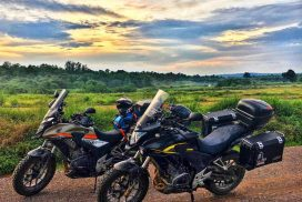 touring Thailand by motorcycle