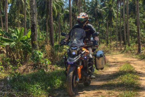 Motorcycle Rider Thailand