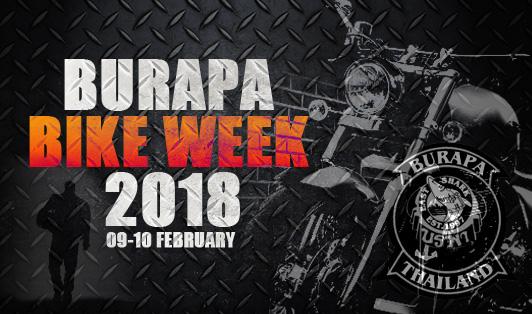 Burapa Bike week Logo