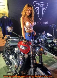 Triumph Motorcycle and model