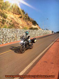 motorcycle rider thailand