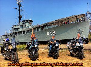 motorbike touring in Thailand
